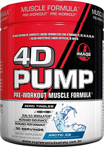 Image Sports - 4D PUMP - Intense Pre-Workout Formula - ARCTI