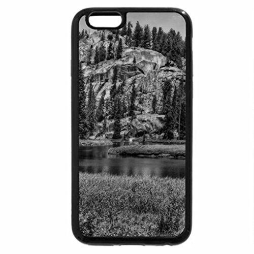 iPhone 6S Plus Case, iPhone 6 Plus Case (Black & White) - hanalei river valley hawaii hdr