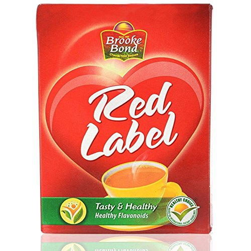 Brooke Bond Red Label Tea India, 31.7 - Tea Loose Label Red