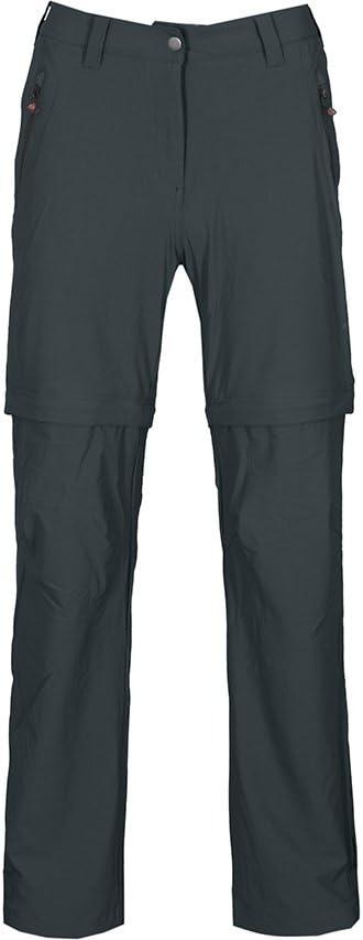 Verstellbarer Saum nahtfreies Sitzpolster Zip Off Radhose heraustrennbare Rad-Unterhose Bergson Damen Zipp-Off Radhose Blackburn