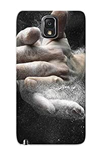 Chistmas' Gift - Cute Appearance Cover/tpu Pcxevj-3692-mwmnhjy Chalked Hands High Speed Photograph Case For Galaxy Note 3