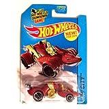 Hot Wheels 2014 Hw City - Knight Draggin - Red - New Model - P34 by Hot Wheels