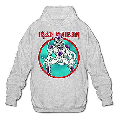 XJBD Men's Flisa Pop Rock Band Unique Sweatshirt Ash