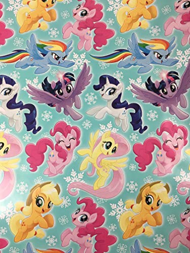 My Little Pony Christmas Gift Wrapping Paper -60 Square -