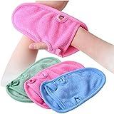 3PCS Bathing Gloves-Unisex Children Adult Shower r Bathroom Skin Face Body Wash Massage Loofah Scrub Spa Mitt(Color Random)