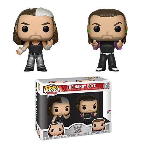 Funko Pop! We: We - Hardy Boys 2-Pack Collectible Figure, Multicolor by Funko