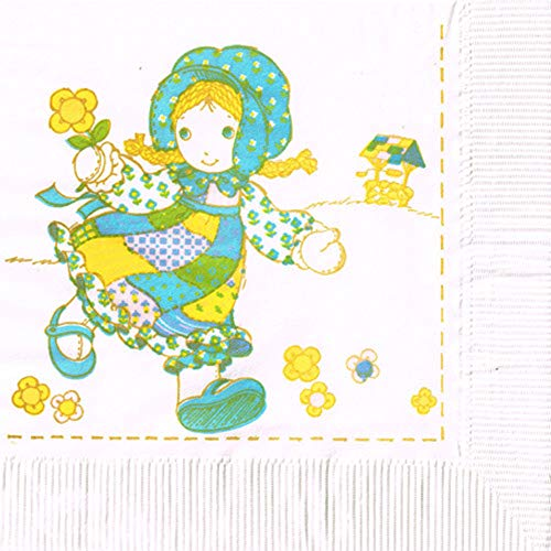 Holly Hobbie Vintage 1981 Lunch Napkins (16ct)
