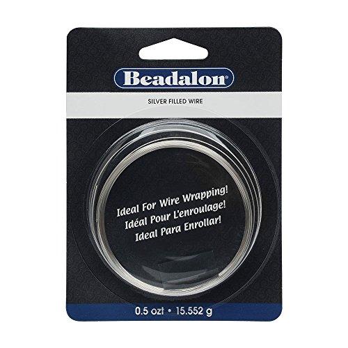 Beadalon 20 Guage Half Hard Silver Filled Cda220 1 10