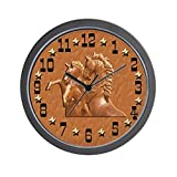 Cheap CafePress – Western Theme Clock – Unique Decorative 10″ Wall Clock