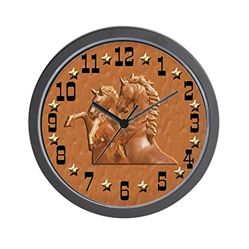 CafePress - Western Theme Clock - Unique Decorative 10