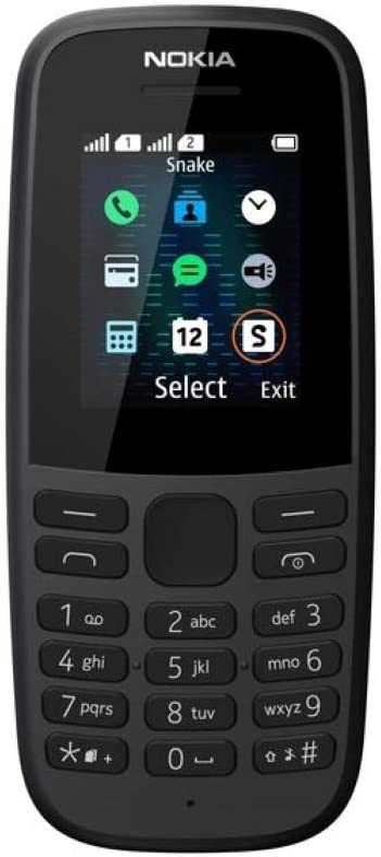 Nokia 105 - Teléfono móvil de 1,77