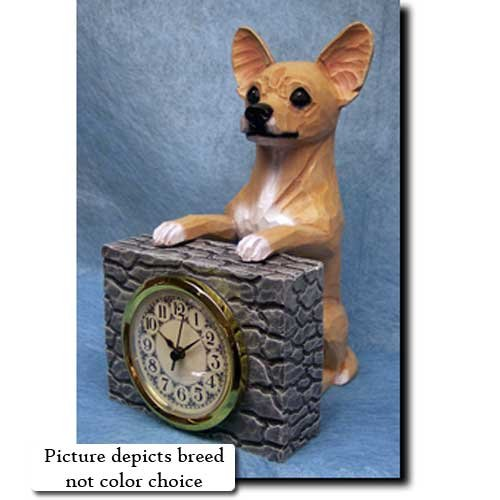 (Michael Park TRI Chihuahua Mantle Clock)