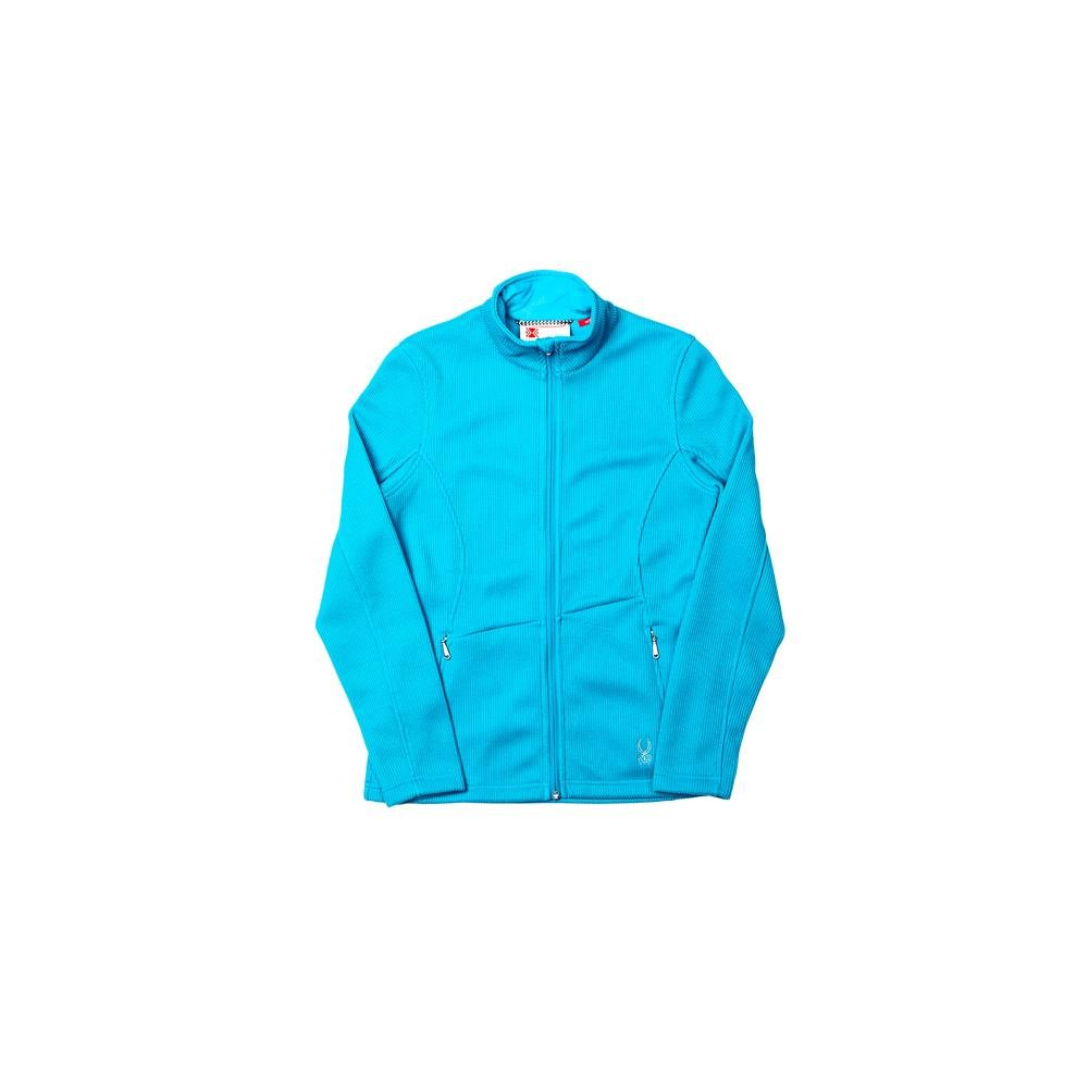 Spyder Women's Endure Full Zip Mid Weight Core Sweater, Riviera, X-Large by Spyder