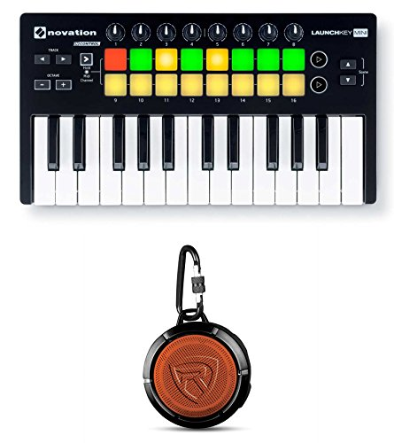 Novation LAUNCHKEY MINI MK2 25 Key USB Keyboard Controller+Bluetooth Speaker by Nov