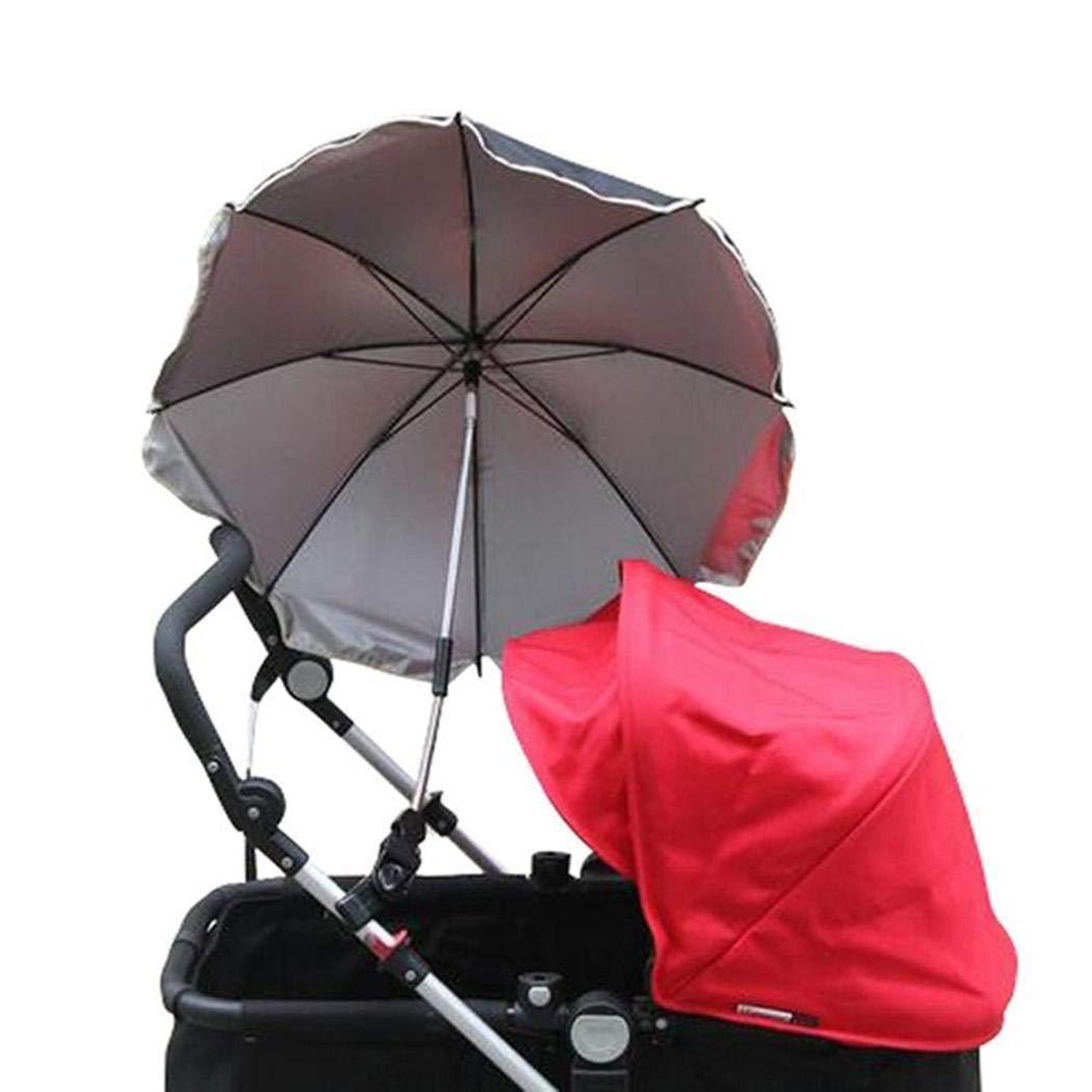Pinsparkle Durable Folding Solid Pushchair Sun Umbrella Pram Umbrella Sun Protection by Pinsparkle (Image #5)