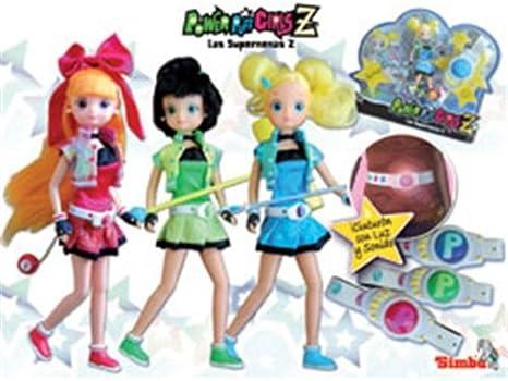 Amazon.es: Super Nenas Z Cinturon Ni A: Juguetes y juegos