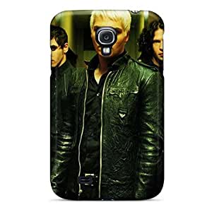 Bumper Hard Cell-phone Cases For Samsung Galaxy S4 (dtW7259zJEp) Allow Personal Design Colorful My Chemical Romance Band Skin
