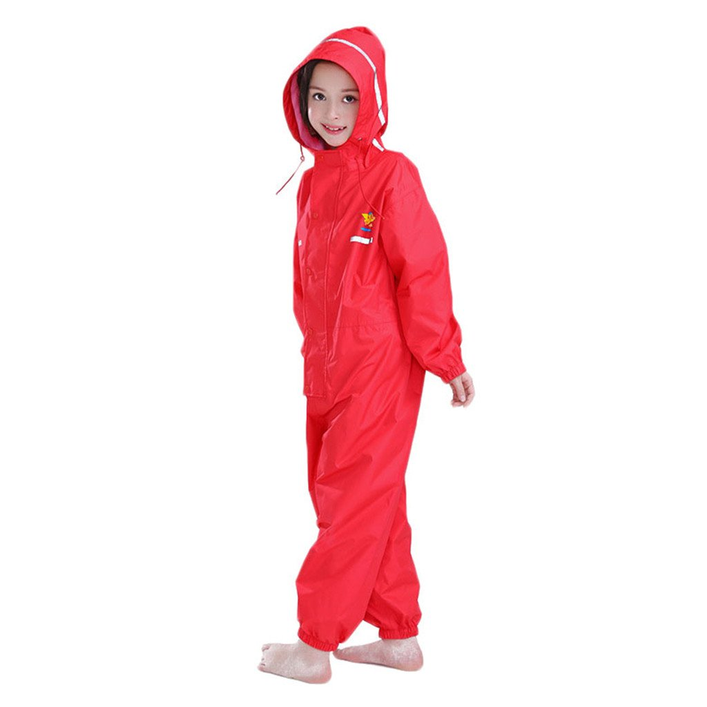 Kids Raincoat Ponchos Overall Rainsuit Boys and Girls Rain Gear, 2 14 Huizhou Weiyitian Trading CO. Ltd