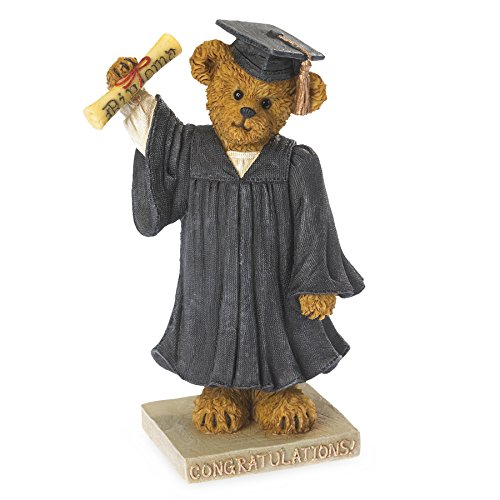 Boyds Bears Graduation Bearstone - The Graduate - Time to Celebrate