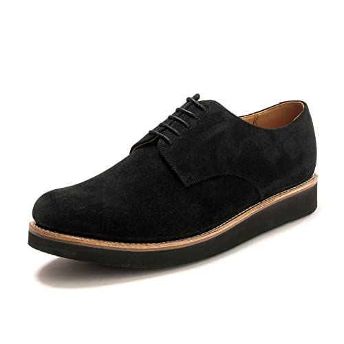 ab03898487a Grenson Curt Black Suede Derby Nabl G  Amazon.co.uk  Shoes   Bags