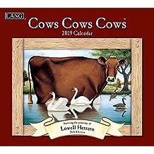 Cows Cows Cows 2019 Calendar: Includes Bonus Free Download
