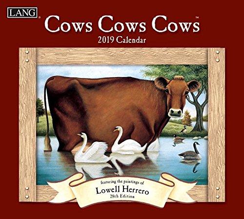 Cows Cows Cows 2019 Calendar: Includes Bonus Free -