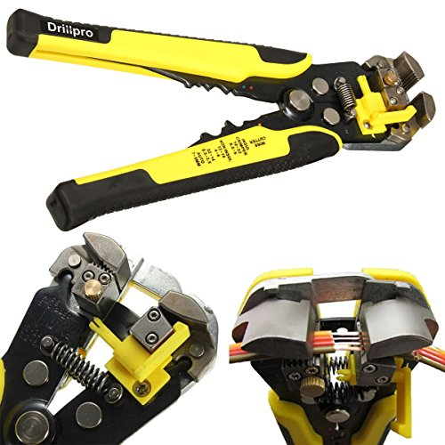 Drillpro Wire Stripping Tool Self-adjusting cable stripper f