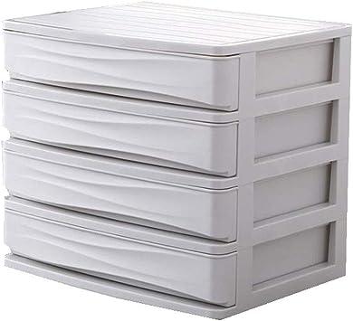 Organizador de Escritorio, 4-Capas Cajón Durable Plástico Mesa de ...