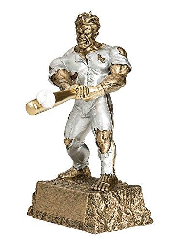 Decade Awards ⚾ Baseball Monster Trophy ⚾ Triumphant Beast Baseball Award | 6.75 Inch Tall - Customize Now