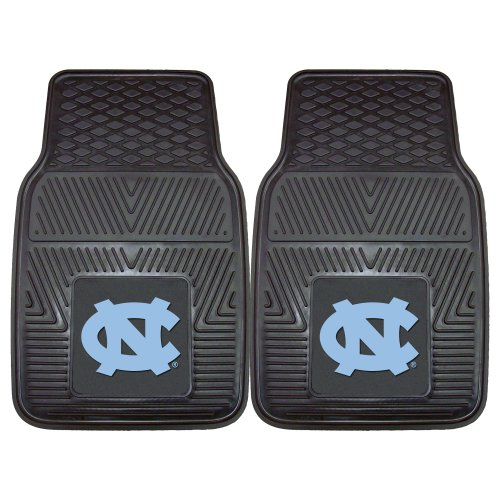FANMATS NCAA UNC University of North Carolina - Chapel Hill Tar Heels Vinyl Heavy Duty Car Mat
