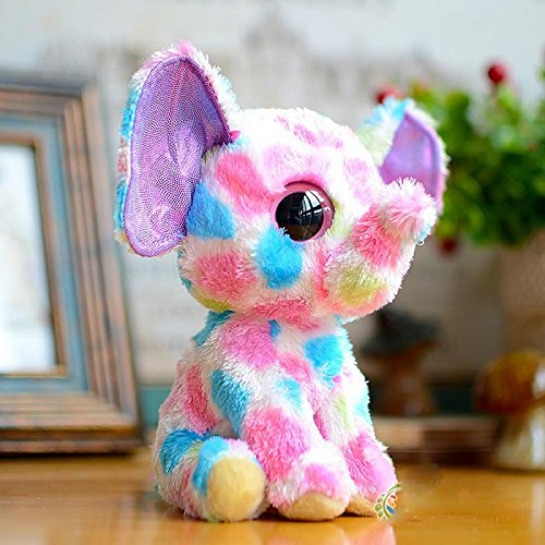 Amazon.com: Hot sale TY big eye plush toys 15cm soft peluche ty beanie boos elephant stuffed animals dolls for kids 20% OFF: Baby