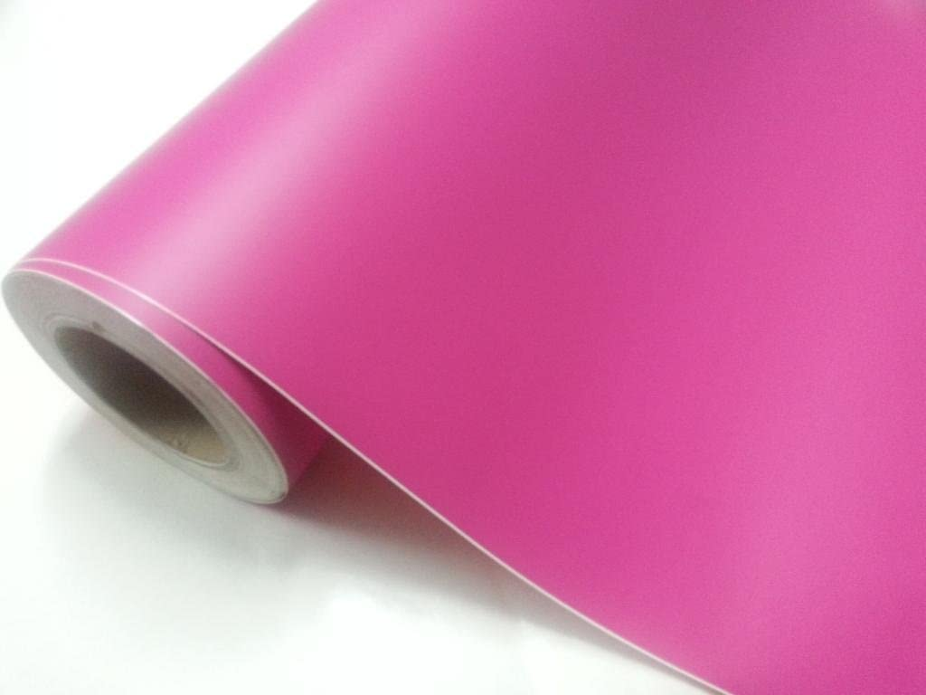 Vinilo rosa fucsia mate, alta calidad, para interior y exterior. Medida a elegir: 60x100cm, 60x150cm, 60x200cm, 60x300cm: Amazon.es: Hogar