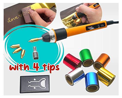 KINGTOOL Hot Foil Stamping Tool Hot Quill Pen