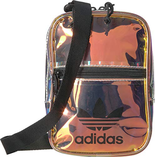 adidas Originals Originals Iridescent Festival Crossbody, Radiant Metallic, One Size
