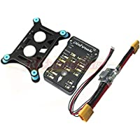 Hobbypower Pixhawk PX4 V2.4.8 32Bit Flight Controller with Shock Absorber and XT60 Plug Power Module for FPV Quadcopter Multirotor