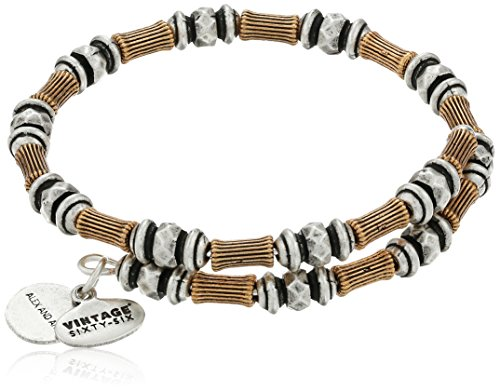Alex Ani Willow Two Tone Bracelet