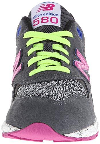 New Balance - Zapatillas de running de Piel para mujer Gris Grey/Black gris