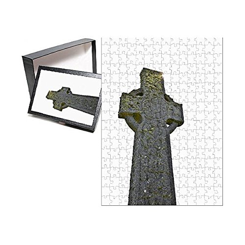 252 Piece Puzzle of Celtic Stone Cross of The 13th Century (10140508)