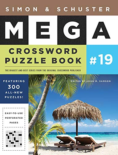 Pdf Entertainment Simon & Schuster Mega Crossword Puzzle Book #19 (S&S Mega Crossword Puzzles)