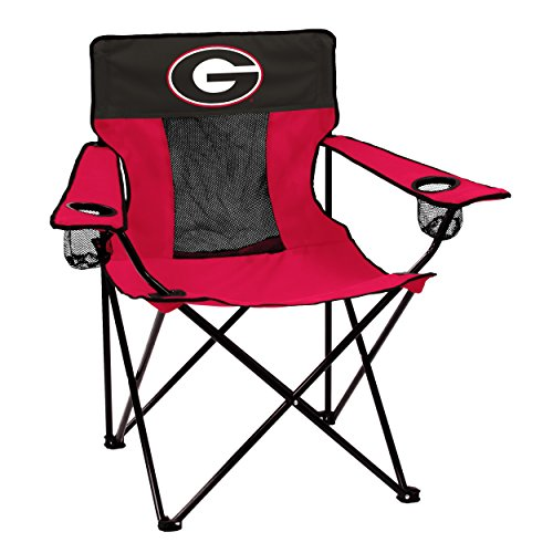 Logo Brands Collegiate Georgia Bulldogs Elite Chair