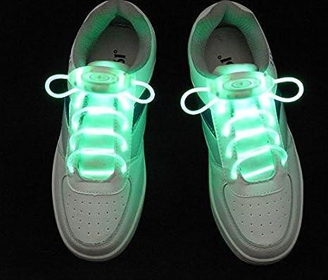 No  1 paia di lacci per le scarpe LED Blink fine Fluor cent lacci ... f01c2f4ee3b