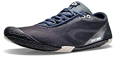 TSLA Men's Trail Running Minimalist Barefoot Shoe BK30 / BK40 / A104 / A102