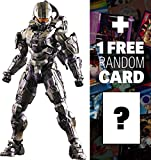 Master Chief: Halo 5 x Square Play Arts Kai Action Figure + 1 FREE Video Games Themed Trading Card Bundle