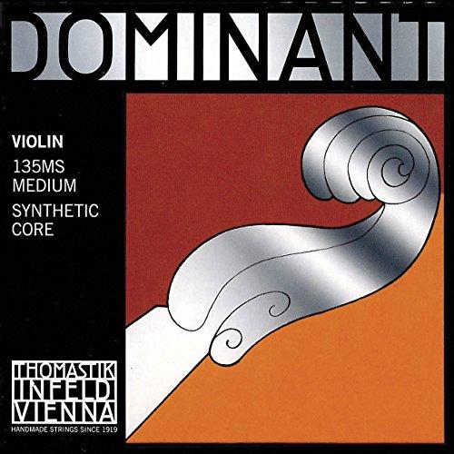 (Thomastik-Infeld 135MS Dominant 4/4 Violin String Set with Wound Loop E)
