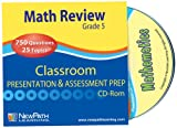 NewPath Learning Math Interactive Whiteboard CD-ROM, Site License, Grade 5