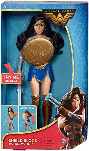 dc comics Comics-900 FDF39 Wonder Woman Shield Deluxe Doll, Colore Block, 12