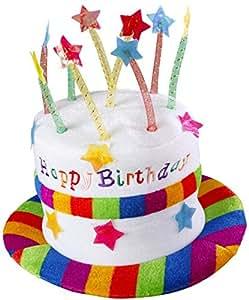 Happy birthday hat (gorro/ sombrero)