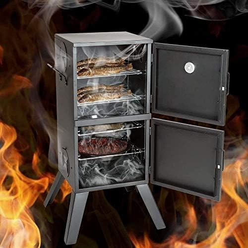 Woodtree Grill Charbon - Tailles différentes au Choix - (Barbecue avec Un Chapeau et Une Roue Circulaire   n ° 401665) Taille: Verre Fumeurs   No. 401412