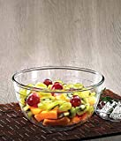 LaOpala Mixing Bowl, 1 LTR, Tempered Borosilicate Glass (Made in France)