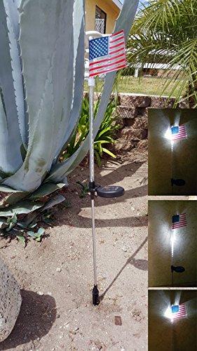 American Flag Solar Light - 9